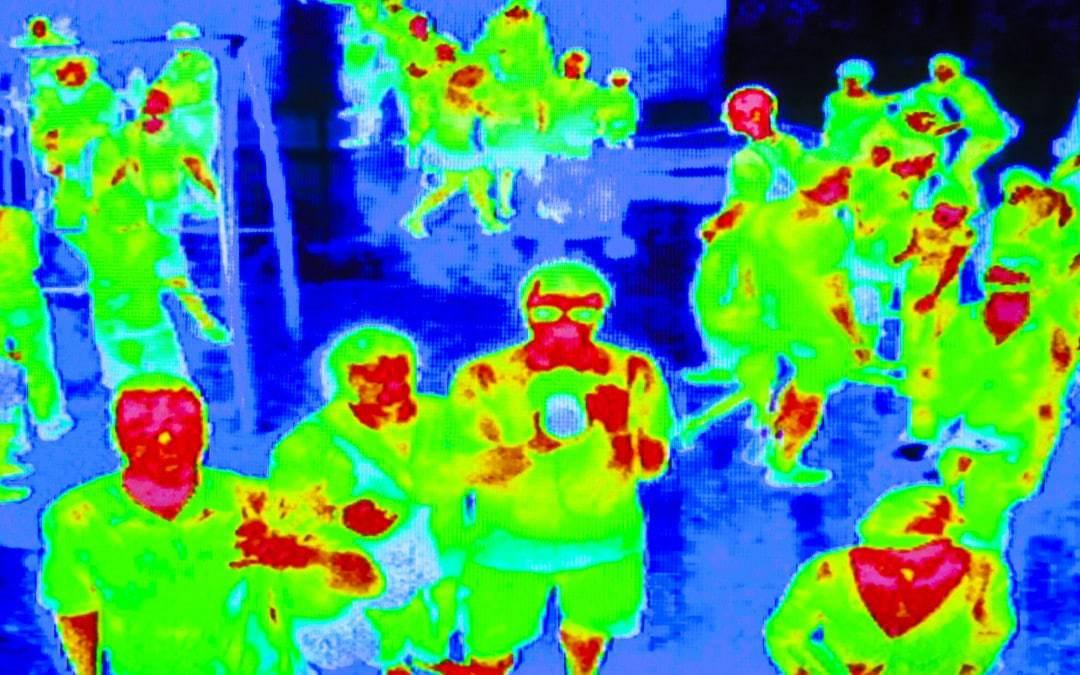 infračervené snímanie osôb