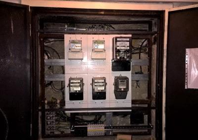 elektromerová rozvodnica, hlavné ističe bytu, prepäťová ochrana