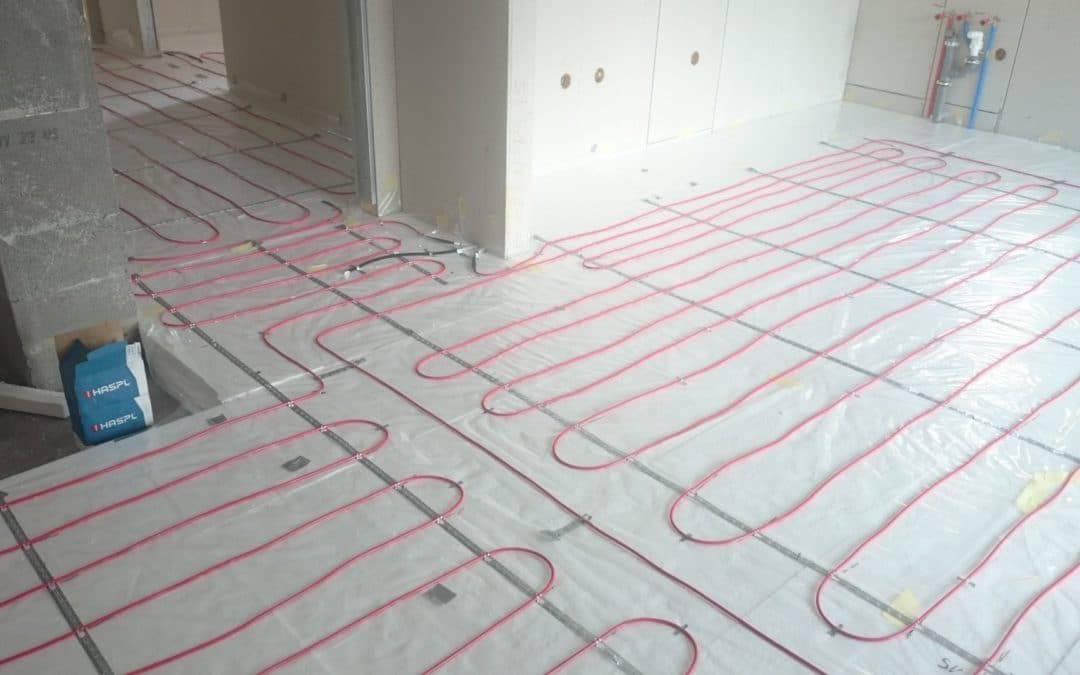 Elektrické podlahové kúrenie s DEVI káblami [REALIZÁCIA]