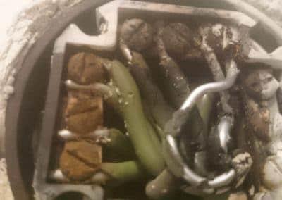 zahorené hliníkové vodiče