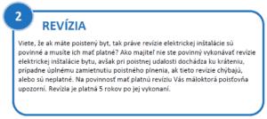 2.krok - revízie elektro