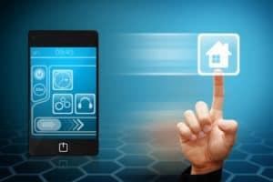 tablet s ovládaním domu