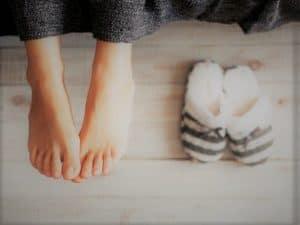 nohy v teple ok