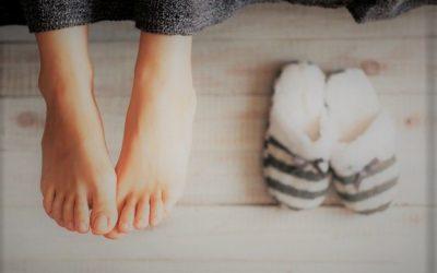Keď sú nohy v teple, teplota vzduchu môže byť chladnejšia