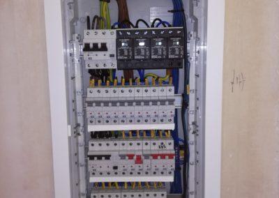 elektroinštalácia rodinného domu - rozvodnica