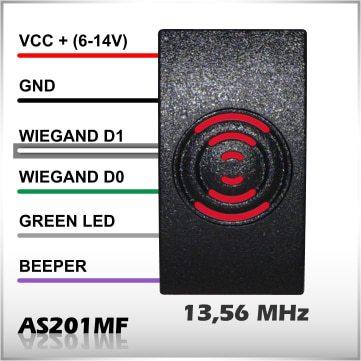 čítačka RFID 13,56MHz