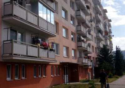 Bytovka Tulská 31-41, Zvolen