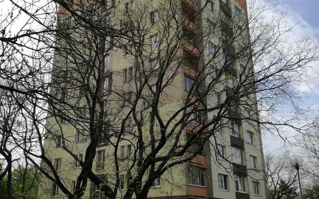 Výmena elektrických rozvodov v dome (70bj) – Sabinovská 9, BA [REALIZÁCIA]