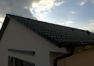 bleskozvod montáž - strecha