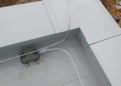 Ochrana proti blesku - Upevnenie vedenia bleskozvodu na streche