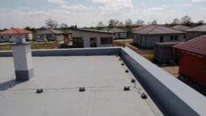 bleskozvod na rodinnom dome Uchytenie bleskozvodovej sústavy na streche