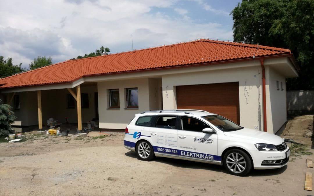 Ochrana pred bleskom – valbová strecha Rodinný dom – BA [REALIZÁCIA]