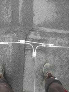 Uchytenie a vedenie bleskozvodovej sústavy spolu s jímacou tyčou