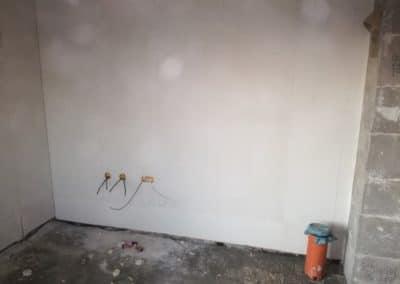 elektroinštalácia rodinného domu - Zatiahnuté elektrické káble