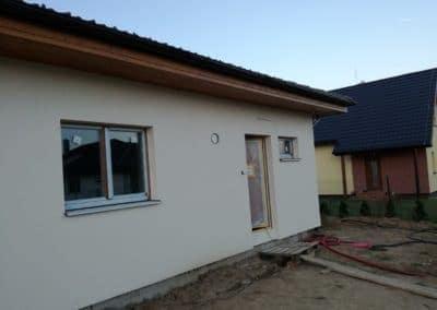 Celkový pohľad na rodinný dom v Čani