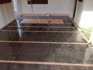 elektroinštalačné práce - Podlahové vykurovanie FENIX ECOFILM