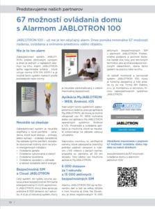 časopis ATRIUM-SK - článok JABLOTRON 100