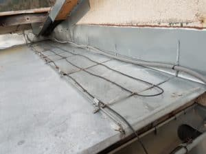 Ohrev strechy - vyhrievacie káble