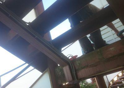 Ohrev schodov - rozvody pre ohreviacie káble