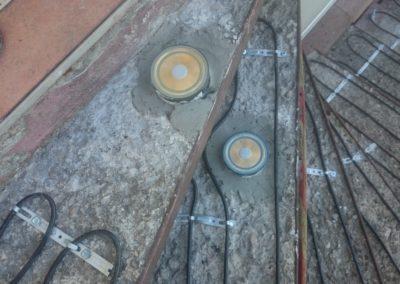 Ohrev schodov - zemné sondy