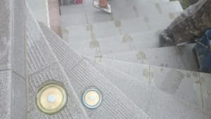 Ohrev schodov - finalizácia