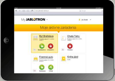 MyJablotron aplikácia