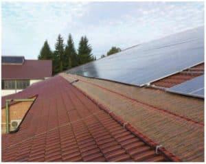 etherma ohrev žľabov strecha