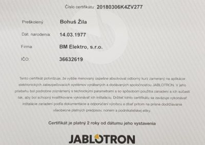 Školenie JABLTRON K4 pre profesionálov 2018