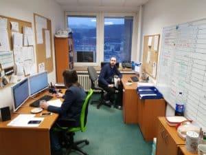 technické oddelenie a komunikácia