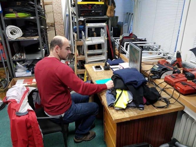 elektrikár - príprava na realizáciu