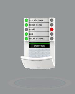 Klávesnica s numerickou kláv a RFID JA-113E