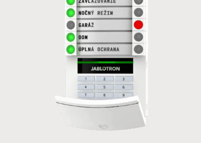 klávesnica s numerickou kláv a RFID JA-113E_sk