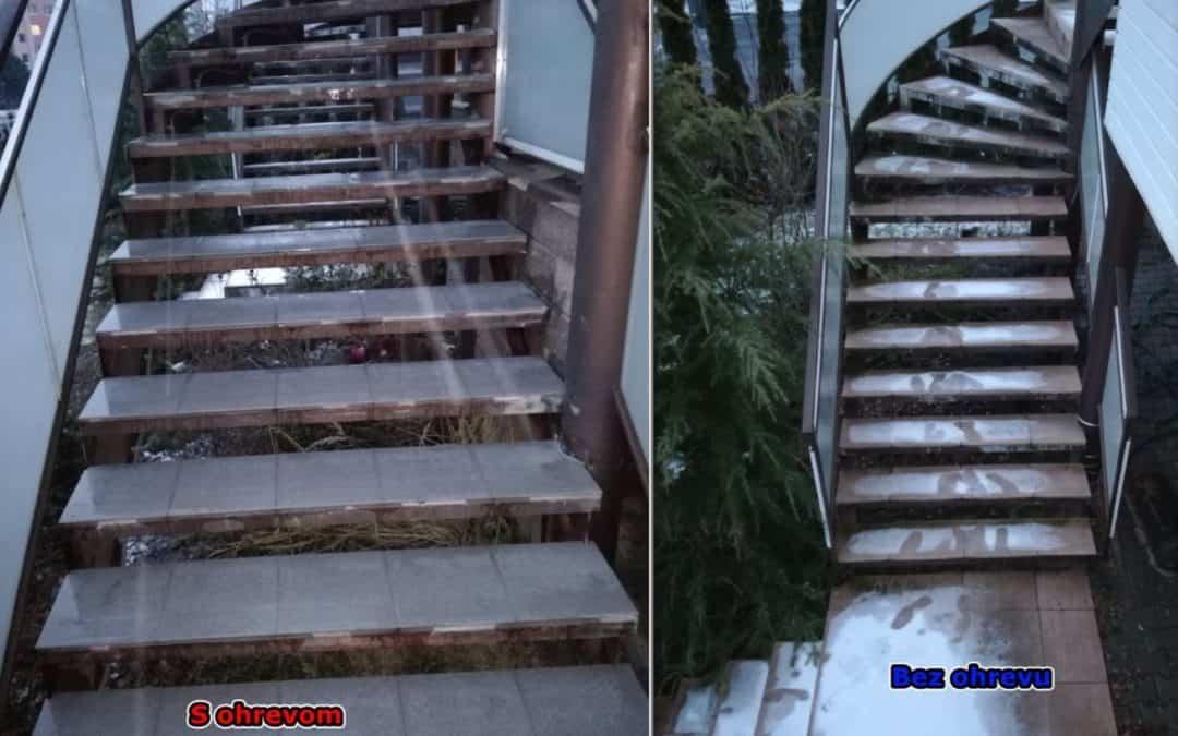 Rozmrazovanie schodov – Banská Štiavnica [REALIZÁCIA]