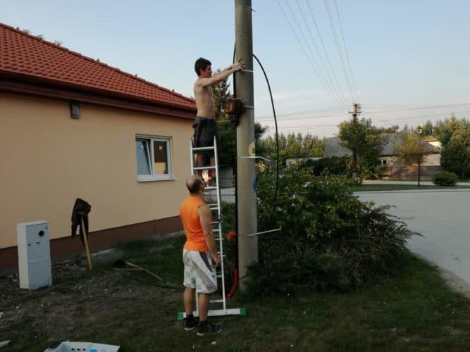 Elektrická prípojka NN rodinný dom