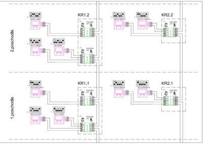 schéma zapojenia GOLMAR GB2 - schéma byty