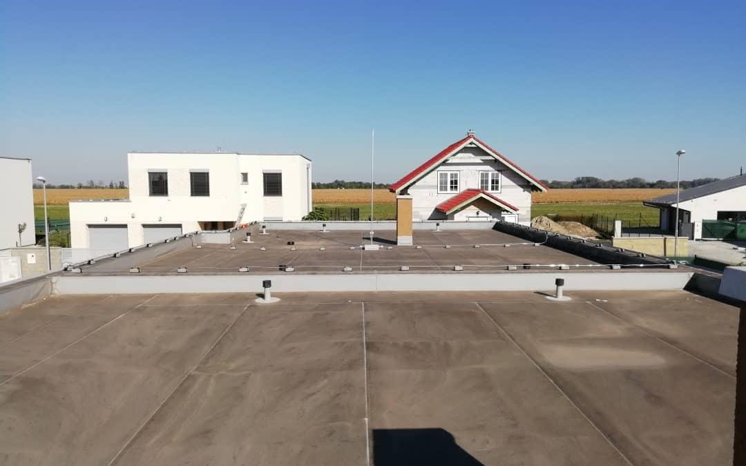 Bleskozvod plochá strecha + hĺbkový zemnič DEHN [REALIZÁCIA]