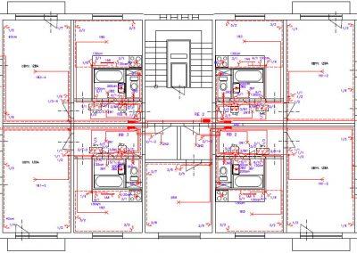 dispozičná schéma byty