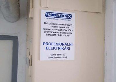 Rekonštrukciu vykonali profesionálni elektrikári