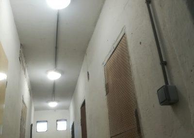 Osvetlenie pivníc bytovky