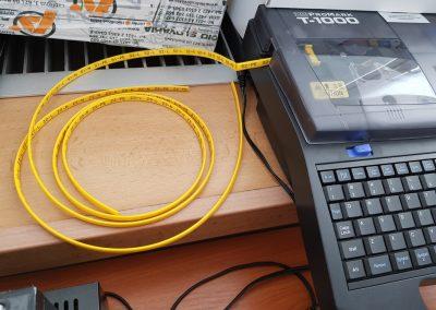 Tlač na tlačiarni Promark T-1000