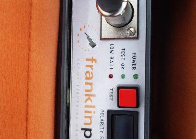 Prístroj na meranie Franklin Plus
