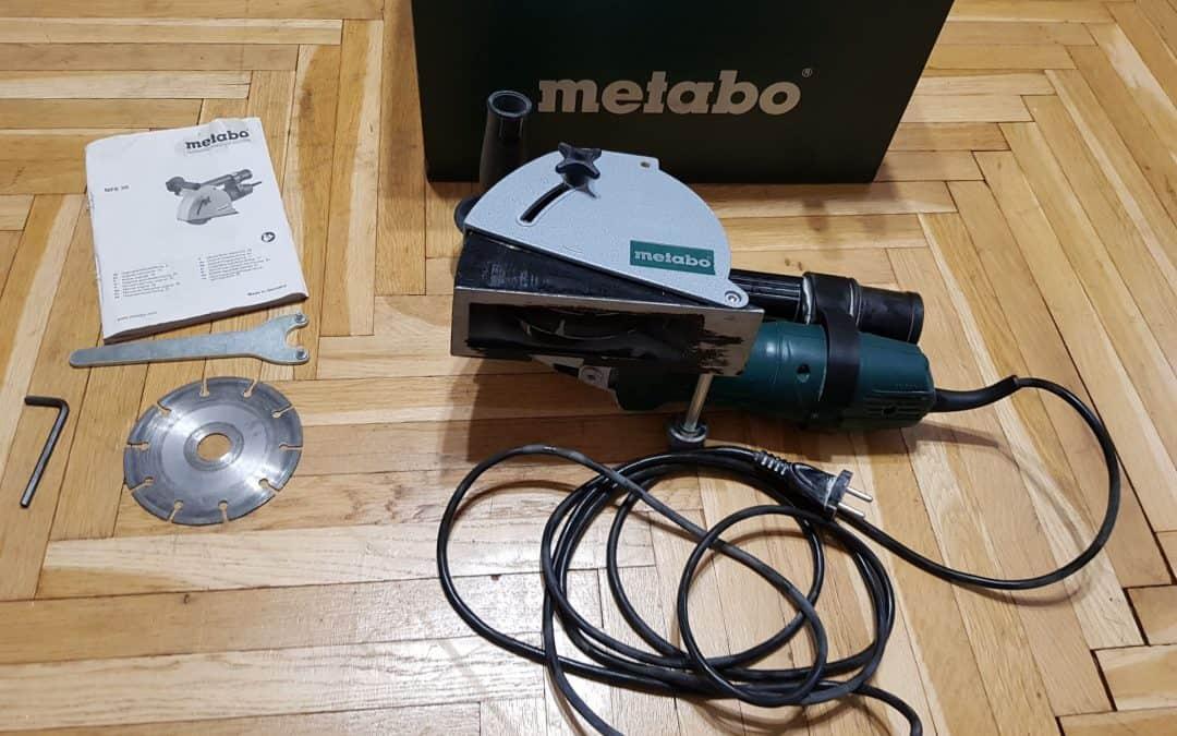 Drážkovacia fréza METABO MFE 30 v kufríku