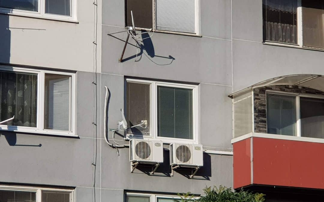 klimatizácia do bytu