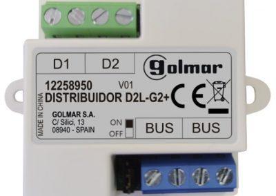 D2L-G2+ video distribútor