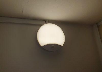 PIR+NO svietidlo v klasickomrežime