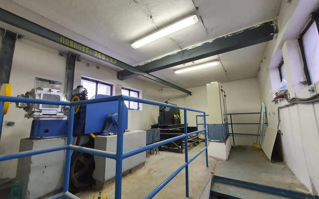 Rekonštrukcia elektro bytovky a osvetlenie priestorov